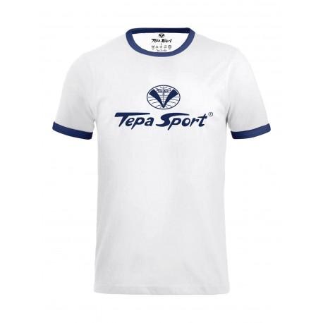 T-shirt 1952 bianco/blu