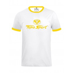 T-shirt 1952 bianco/giallo